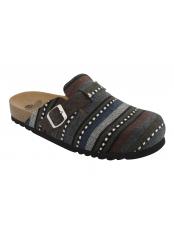 Scholl AZHAI multi zelená domácí zdravotní obuv