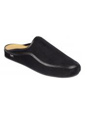 Scholl BRANDY černá domácí obuv