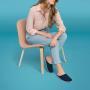 Scholl CHIKA tmavě modrá domácí obuv