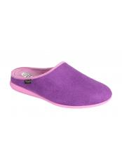 CHIKA purpurová domácí obuv