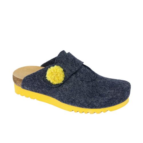 Scholl ELVY tmavě modrá domácí obuv EU 38 a0a94f4335