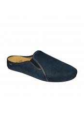 Scholl FELCE tmavě modrá domácí obuv