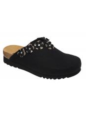 HENRIETTE černá domácí obuv