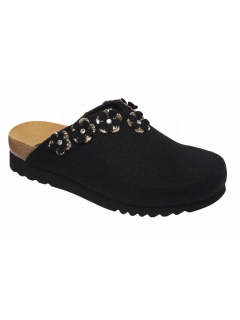 Scholl HENRIETTE černá domácí obuv