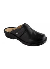 Scholl LENK černé zdravotní pantofle
