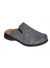 Scholl NEW TOFFEE tmavě šedá domácí obuv