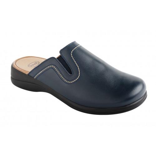 Scholl NEW TOFFEE modrá domácí obuv