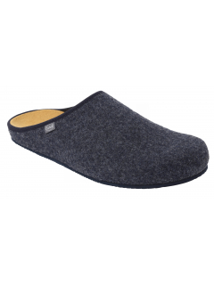Scholl SHELDON tmavě modrá domácí zdravotní obuv
