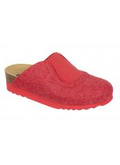 Scholl YOLE červená domácí obuv
