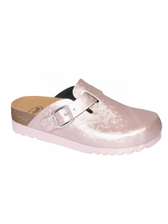 Scholl AMIATA růžová domácí obuv