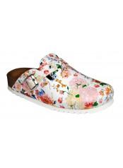 ASTILBE vícebarevná domácí obuv