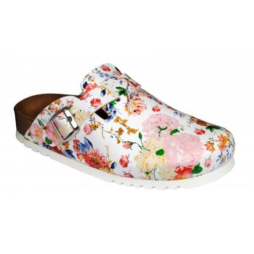 Scholl ASTILBE vícebarevná domácí obuv