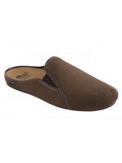 Scholl FELCE tmavě hnědá domácí obuv