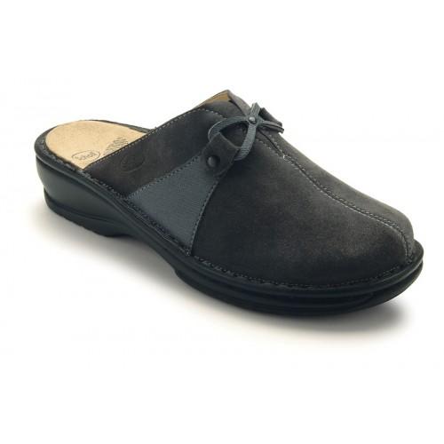 Scholl MONIKE šedé domácí pantofle