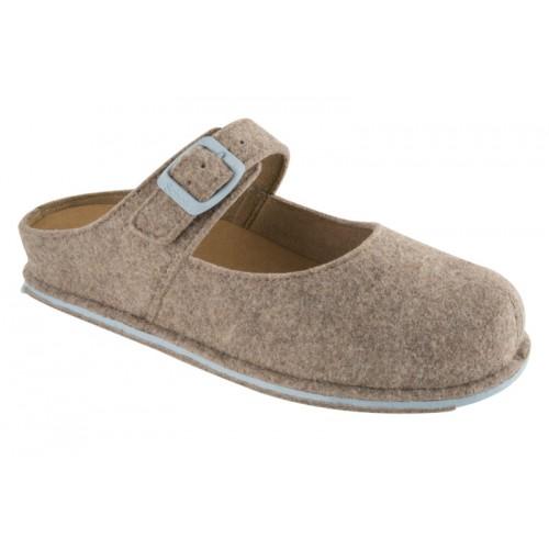 Scholl SPIKEY2 - světle hnědá domácí obuv