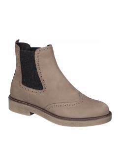 Scholl RUDY béžová kotníčková obuv
