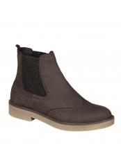 Scholl RUDY tmavě hnědá kotníčková obuv