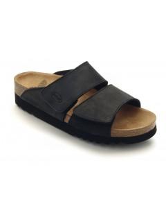 Scholl AALIM černé zdravotní pantofle