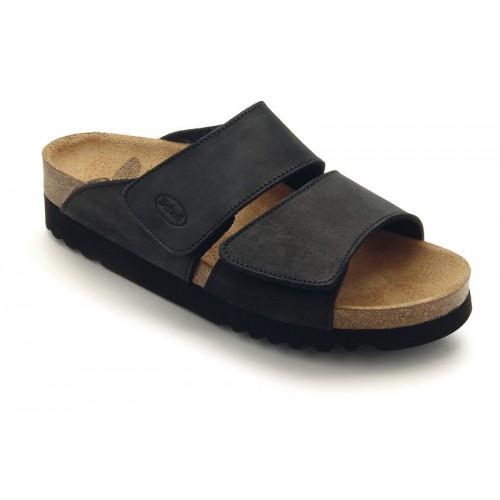 Scholl AALIM černé zdravotní pantofle 3004252103