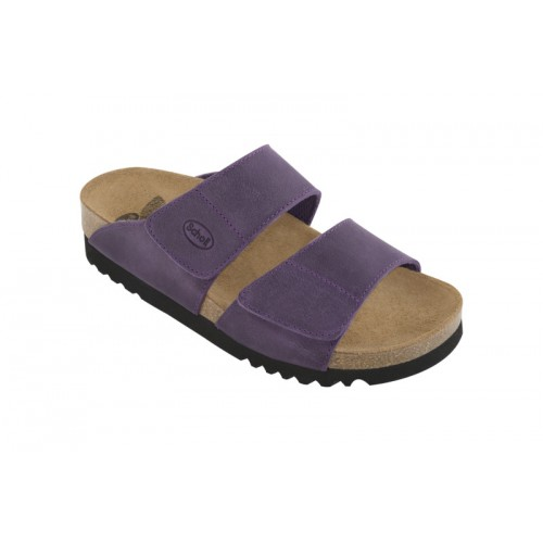 Scholl AALIM švestkové zdravotní pantofle