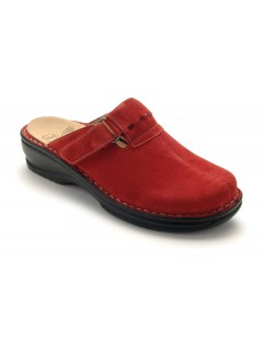 Scholl AGATHE červené zdravotní pantofle