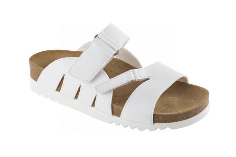 ALABAMA bílé zdravotní pantofle 47afaac0ba