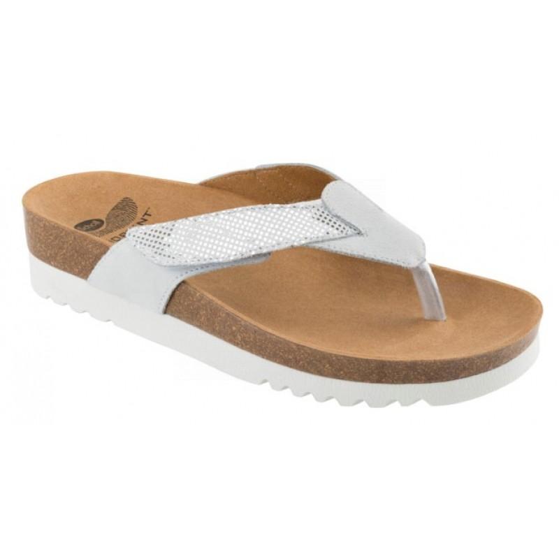 Scholl ALAXIAS bílé zdravotní pantofle e9d6372fd0