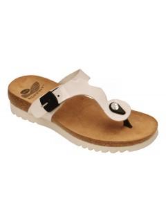 Scholl BERIC bílé zdravotní pantofle
