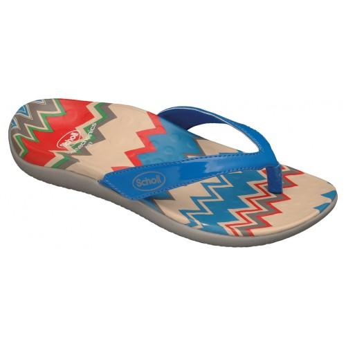 Scholl BOREA modré zdravotní pantofle VÝPRODEJ
