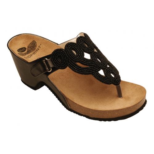 Scholl EMYN černé zdravotní sandále