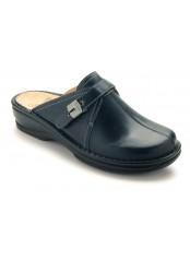 Scholl EULALIA tmavě modré zdravotní pantofle