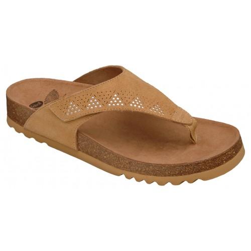 Scholl MASABE béžové zdravotní pantofle VÝPRODEJ