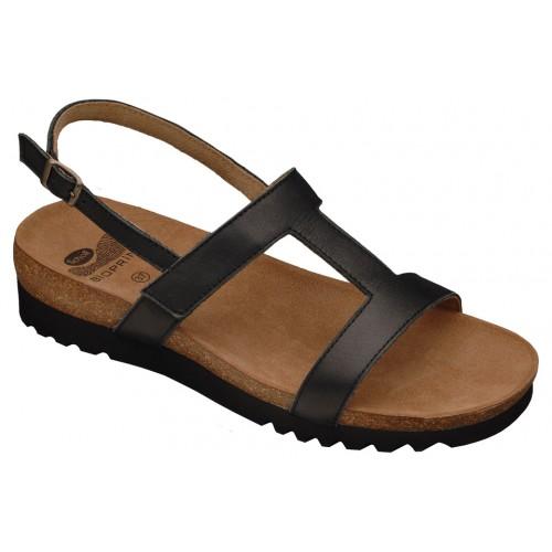 Scholl NEW LABA černé zdravotní pantofle