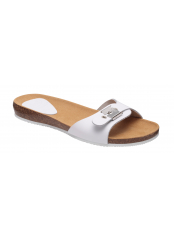 Scholl BAHAMA 2.0 - bílé zdravotní pantofle