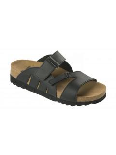 Scholl ALABAMA černé zdravotní pantofle