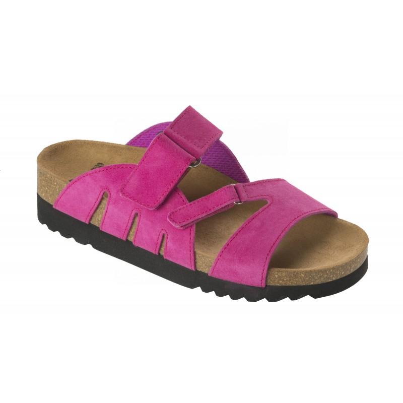 Scholl ALABAMA růžové zdravotní pantofle 129e8947ef