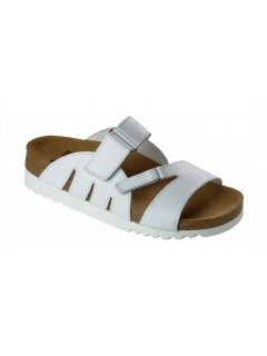 Scholl ALABAMA bílé zdravotní pantofle