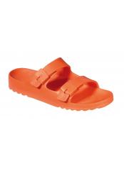 BAHIA - oranžové zdravotní pantofle