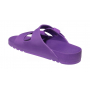 Scholl BAHIA - fialové zdravotní pantofle