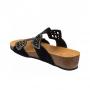 Scholl CAMILLA černé zdravotní pantofle