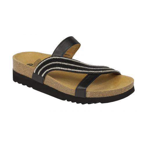 f10051994c8b Scholl FELISA černé zdravotní pantofle EU 42