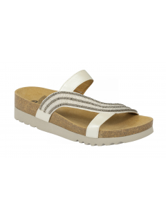 Scholl FELISA bílé zdravotní pantofle