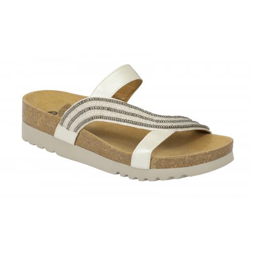 Scholl FELISA bílé zdravotní pantofle EU 42 62b18b6d5c