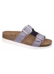Scholl FILIPPA světle fialové zdravotní pantofle