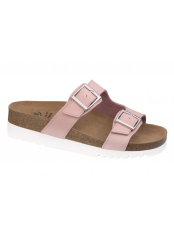 Scholl FILIPPA světle růžové zdravotní pantofle