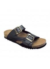 Scholl MOLDAVA AD - černé zdravotní pantofle