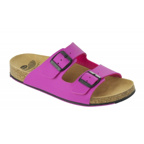 Scholl SPIKEY SS 6 - růžové zdravotní pantofle