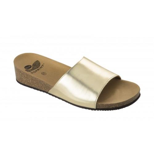 Scholl VINNY platinové zdravotní pantofle