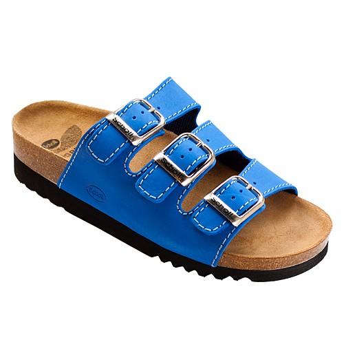 Scholl RIO modrá zdravotní pantofle