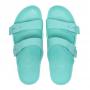 Scholl BAHIA - modrozelené zdravotní pantofle